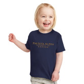 Toddler Navy T Shirt-PHI Stars