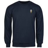 Navy Fleece Crew-Badge