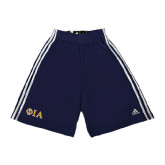 Adidas Climalite Navy Practice Short-Official Greek Letters Two Color