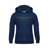 Youth Navy Fleece Hoodie-PHI Stars
