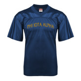 Replica Navy Adult Football Jersey-Phi Iota Alpha