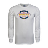 White Long Sleeve T Shirt-Bid Day