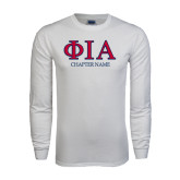 White Long Sleeve T Shirt-Chapter Name