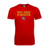 Next Level SoftStyle Red T Shirt-We Are PHIOTA