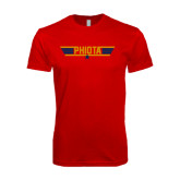 Next Level SoftStyle Red T Shirt-Top Gun Style