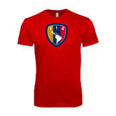 Next Level SoftStyle Red T Shirt-Shield