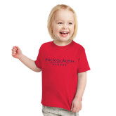 Toddler Red T Shirt-PHI Stars