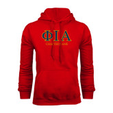 Red Fleece Hoodie-Chapter Name