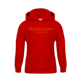 Youth Red Fleece Hoodie-PHI Stars