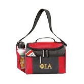 Edge Red Cooler-Official Greek Letters Two Color