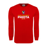 Red Long Sleeve T Shirt-Join The Best