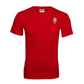 Red T Shirt w/Pocket-Badge