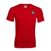 Red T Shirt w/Pocket-Shield