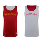 Red/White Reversible Tank-Phi Iota Alpha