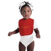 Red Baby Bib-PHI Stars