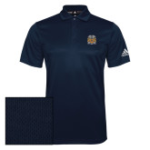 Adidas Climalite Navy Grind Polo-Crest