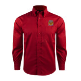 Red House Red Long Sleeve Shirt-Crest