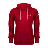 Adidas Climawarm Red Team Issue Hoodie-Official Greek Letters Two Color