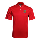 Nike Dri Fit Red Pebble Texture Sport Shirt-Crest