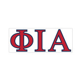 Small Magnet-Official Greek Letters Two Color