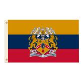 3 ft x 5 ft Flag-Flag With Crest