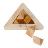 Perplexia Master Pyramid-Official Greek Letters Two Color Engraved