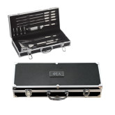 Grill Master Set-Official Greek Letters Two Color Engraved