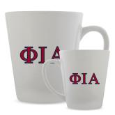 Full Color Latte Mug 12oz-Official Greek Letters Two Color