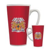 Full Color Latte Mug 17oz-Crest