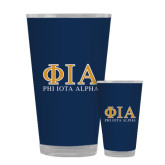 Full Color Glass 17oz-Greek Letters Stacked
