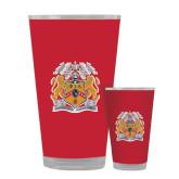 Full Color Glass 17oz-Crest