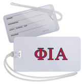Luggage Tag-Official Greek Letters Two Color
