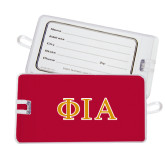 Luggage Tag-Greek Letters Stacked
