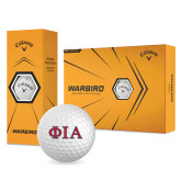 Callaway Warbird Golf Balls 12/pkg-Official Greek Letters Two Color