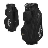 Callaway Org 14 Black Cart Bag-Official Greek Letters Two Color