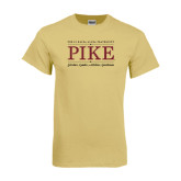 Champion Vegas Gold T Shirt-PIKE Lockup