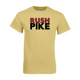 Champion Vegas Gold T Shirt-RUSH PIKE
