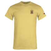 Champion Vegas Gold T Shirt-150 Years Badge