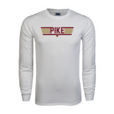 White Long Sleeve T Shirt-Top Gun