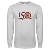 White Long Sleeve T Shirt-150 Years