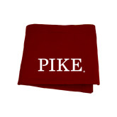 Maroon Sweatshirt Blanket-PIKE