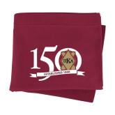 Maroon Sweatshirt Blanket-150 Years