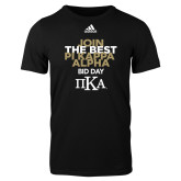 Adidas Black Logo T Shirt-Join The Best