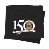 Black Sweatshirt Blanket-150 Years