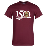 Maroon T Shirt-150 Years
