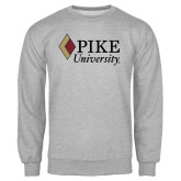 Grey Fleece Crew-PIKE University