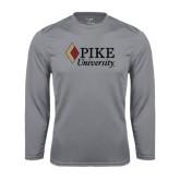 Performance Steel Longsleeve Shirt-PIKE University