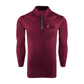 Under Armour Maroon Tech 1/4 Zip Performance Shirt-PIKE University