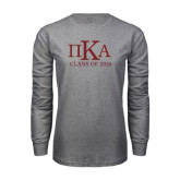 Grey Long Sleeve T Shirt-Class of