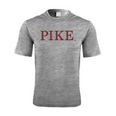Performance Grey Heather Contender Tee-PIKE